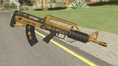 Bullpup Rifle (Base V1) Main Tint GTA V для GTA San Andreas