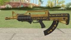 Bullpup Rifle (Two Upgrades V2) Main Tint GTA V для GTA San Andreas