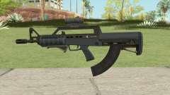 Bullpup Rifle (Two Upgrades V6) Old Gen GTA V для GTA San Andreas