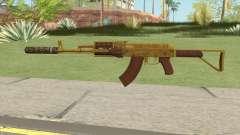 Assault Rifle GTA V Suppressor (Default Clip) для GTA San Andreas