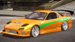 Mazda RX-7 Custom V1.0 PJ для GTA 4