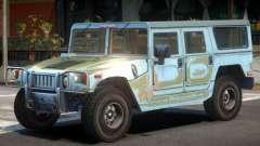Hummer H1 V1 для GTA 4