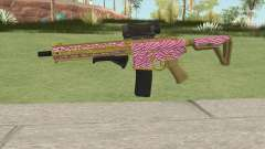 Carbine Rifle GTA V (Zebra Rosa) для GTA San Andreas