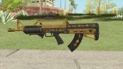 Bullpup Rifle (Two Upgrades V7) Main Tint GTA V для GTA San Andreas