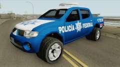 Mitsubishi L200 (De La Policia Federal Mexicana) для GTA San Andreas