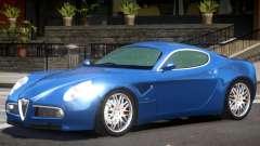 Alfa Romeo 8C GT для GTA 4
