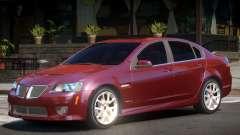 Pontiac G8 GXP V2.1 для GTA 4