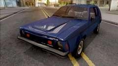 AMC Gremlin X 1973 Blue для GTA San Andreas