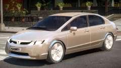 Honda Civic Y7 для GTA 4