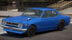 Nissan Skyline 2000 GT V1.0 для GTA 4