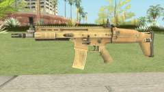 SCAR-L (Contagion) для GTA San Andreas