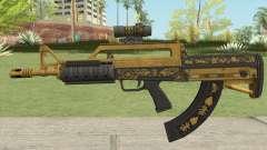 Bullpup Rifle (Scope V2) Main Tint GTA V для GTA San Andreas