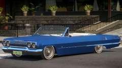 1963 Chevrolet Impala Cabrio для GTA 4