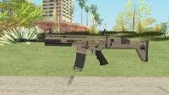 SCAR-L Assault Rifle для GTA San Andreas