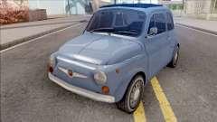 Fiat Abarth 595 SS 1968 Strip Wheels для GTA San Andreas
