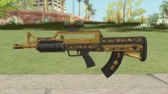 Bullpup Rifle (Two Upgrades V3) Main Tint GTA V для GTA San Andreas