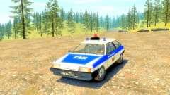 ВАЗ 2108 ГАИ для GTA 4