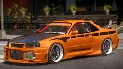 Nissan GT-R Alfa для GTA 4