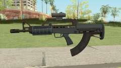 Bullpup Rifle (Scope V2) Old Gen Tint GTA V для GTA San Andreas