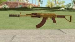 Assault Rifle GTA V Suppressor (Extended Clip) для GTA San Andreas