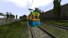 Gotha T57 Tram для GTA San Andreas