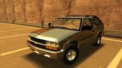 Chevrolet Blazer 2001 V1 для GTA San Andreas