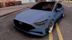 Hyundai Sonata 2020 для GTA San Andreas