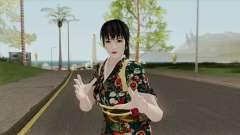 Kasumi Kimono (Retextured) HQ для GTA San Andreas