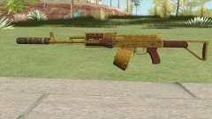 Assault Rifle GTA V Suppressor (Box Clip) для GTA San Andreas