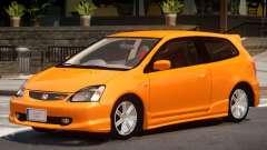 Honda Civic R V1.0 для GTA 4