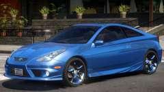 Toyota Celica V1.3 для GTA 4