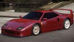 1987 Ferrari F40 для GTA 4