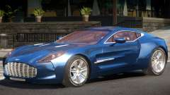 Aston Martin One-77 V1.0 для GTA 4