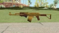 Assault Rifle GTA V Grip (Box Clip) для GTA San Andreas