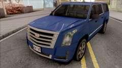 Cadillac Escalade 2016 Lowpoly v2.0 для GTA San Andreas