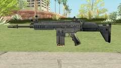 SCAR-H Black (Soldier Front 2) для GTA San Andreas