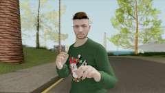 Male Skin (New Year) GTA V Online для GTA San Andreas