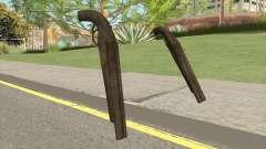 Double Barrel Shotgun GTA V (Army) для GTA San Andreas