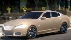 Jaguar XFR V1.2 для GTA 4