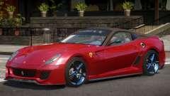Ferrari 599XX Y12 для GTA 4