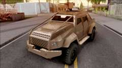 GTA V HVY Insurgent Pick-Up SA Style для GTA San Andreas