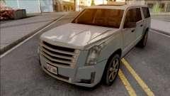 Cadillac Escalade 2016 Lowpoly для GTA San Andreas