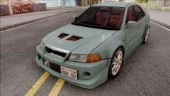 Mitsubishi Lancer GSR Evolution VI 1999 v2 для GTA San Andreas