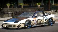 Nissan 240SX V1 PJ для GTA 4