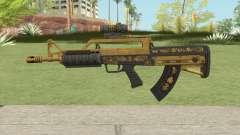 Bullpup Rifle (Scope V1) Main Tint GTA V для GTA San Andreas