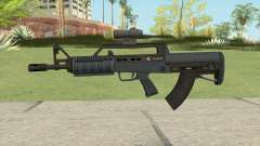 Bullpup Rifle (Scope V1) Old Gen Tint GTA V для GTA San Andreas