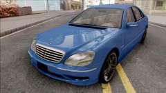 Mercedes-Benz W220 S65 AMG для GTA San Andreas