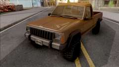 Jeep Comanche v2 для GTA San Andreas