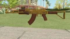 Assault Rifle GTA V Scope (Default Clip) для GTA San Andreas