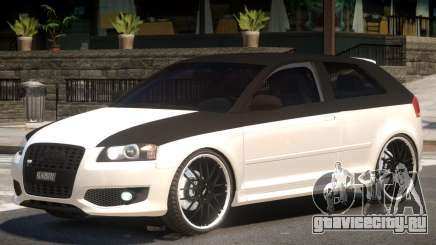 Audi S3 Tuned для GTA 4